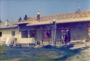 18 Bau KücheUmkleide 1979-80