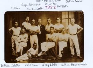 2 Turnen Riege 1922