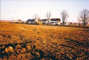 20 Bau Sportplatz 1991
