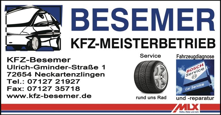 Besemer KfZ 2015
