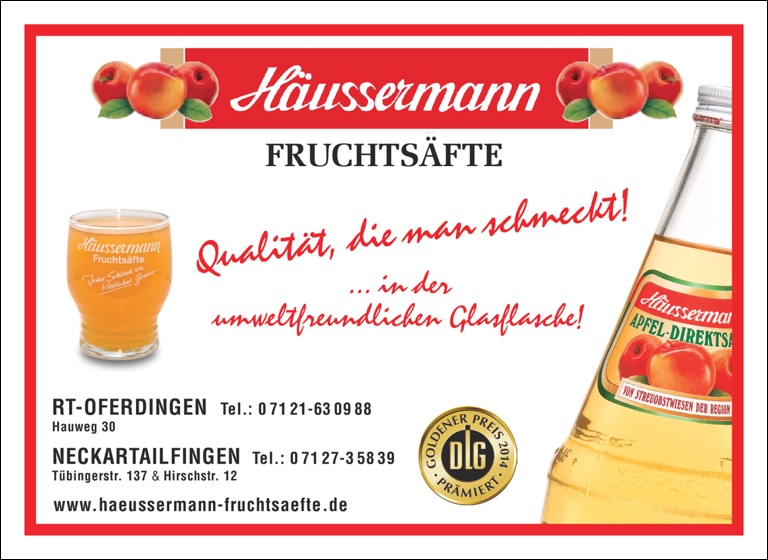 Heussermann Fruchtsäfte