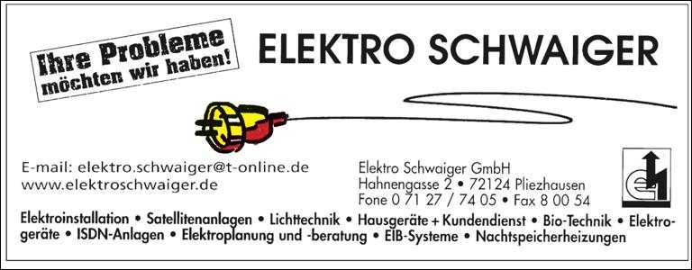 Elektro Schwaiger 2015