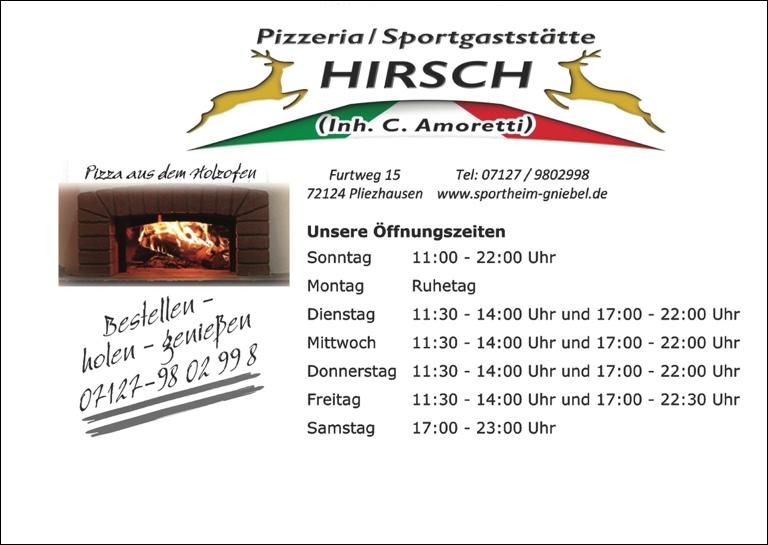 Sportheim Hirsch 2015