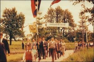 32 Verein Festzug 1960 50-Jubiläum